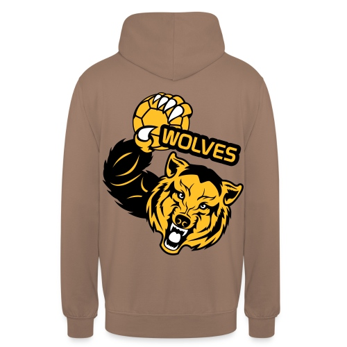 Wolves Handball - Sweat-shirt à capuche unisexe