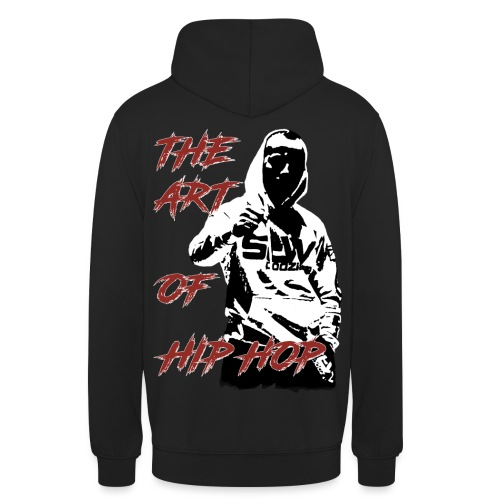 The art of hip hop - Bluza z kapturem typu unisex