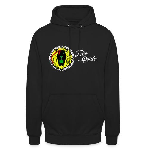 Take Pride Hoodie - Black - Unisex Hoodie