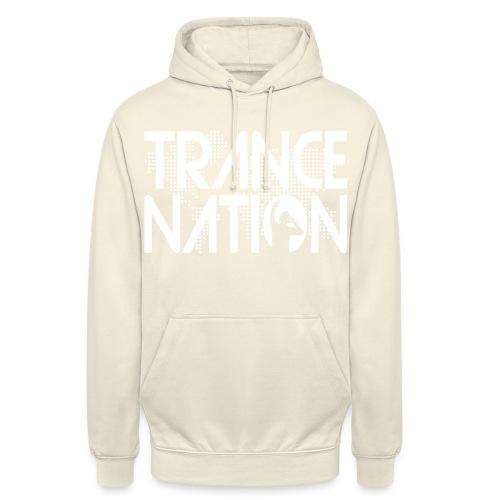 Trance Nation (White) - Luvtröja unisex