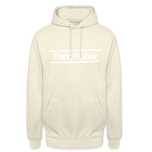 Logo text wit png - Hoodie unisex
