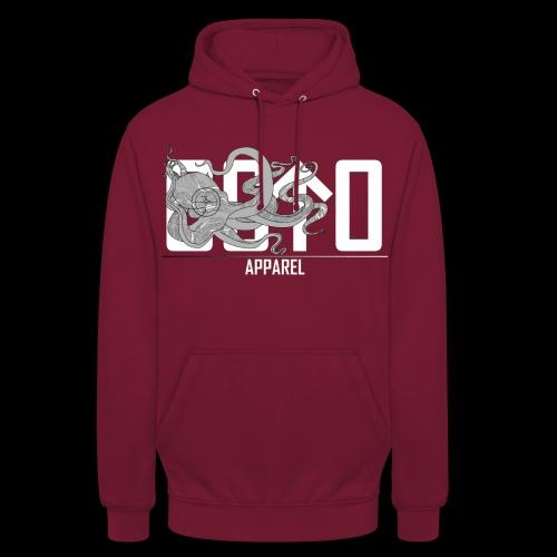 OctoApparel Logo weiss - Unisex Hoodie
