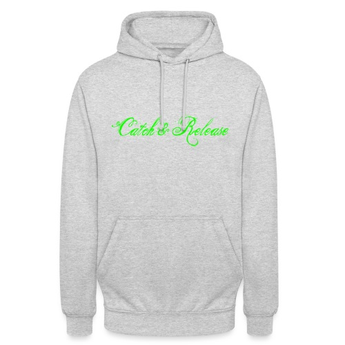 Catch N Release Neon Green - Sweat-shirt à capuche unisexe