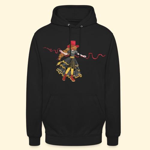 Ladybird - La célèbre uchronaute - Sweat-shirt à capuche unisexe