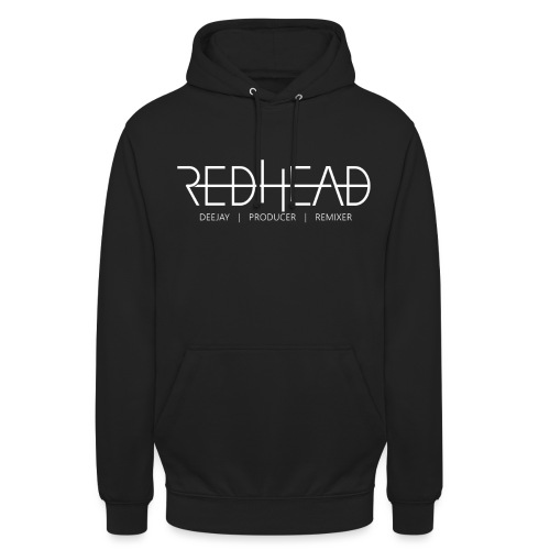 Redhead-Standard [WHITE] - Unisex Hoodie