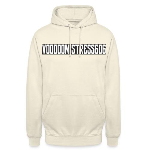 voodoologoletter - Sweat-shirt à capuche unisexe