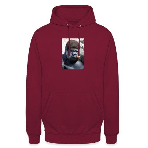 singe - Sweat-shirt à capuche unisexe