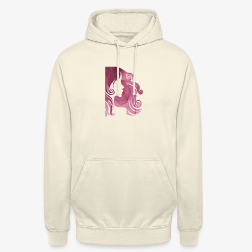 pink-930902_960_720 - Sweat-shirt à capuche unisexe