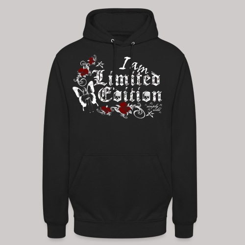 simply wild limited edition on black - Unisex Hoodie