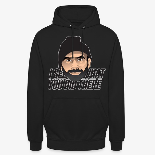 DJ Flipout Black on black - Sweat-shirt à capuche unisexe