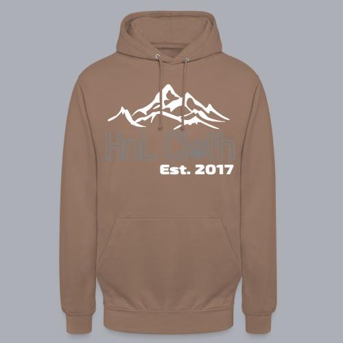 HandL Denim mountain N°2 - Sweat-shirt à capuche unisexe