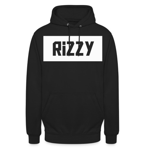 rizzy new design png - Unisex Hoodie