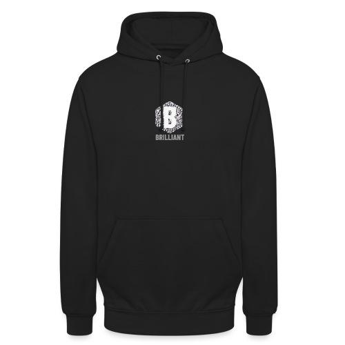 B brilliant grey - Hoodie unisex
