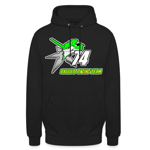 Rallier Racing Team - Sweat-shirt à capuche unisexe