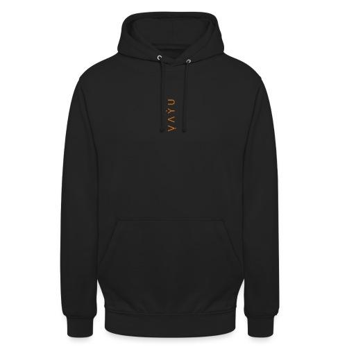 Orange Black - Unisex Hoodie