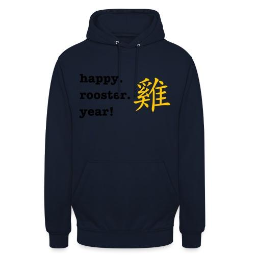 happy rooster year - Unisex Hoodie