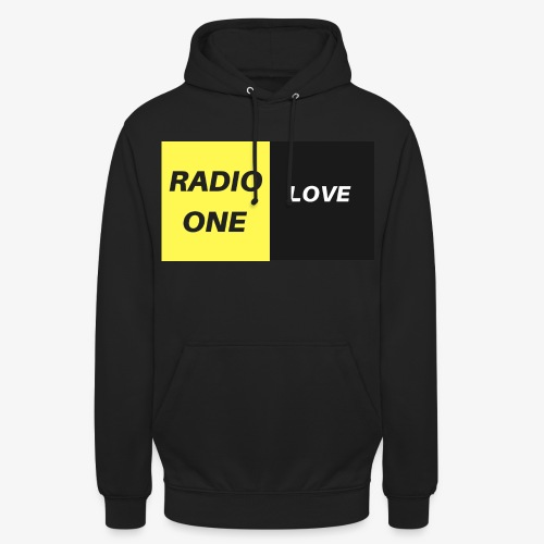 RADIO ONE LOVE - Sweat-shirt à capuche unisexe