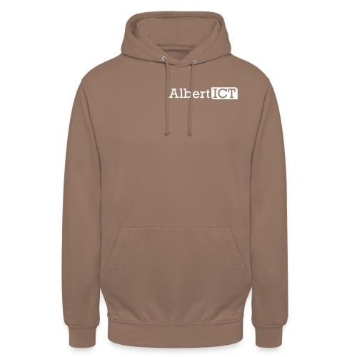 AlbertICT wit logo - Hoodie unisex