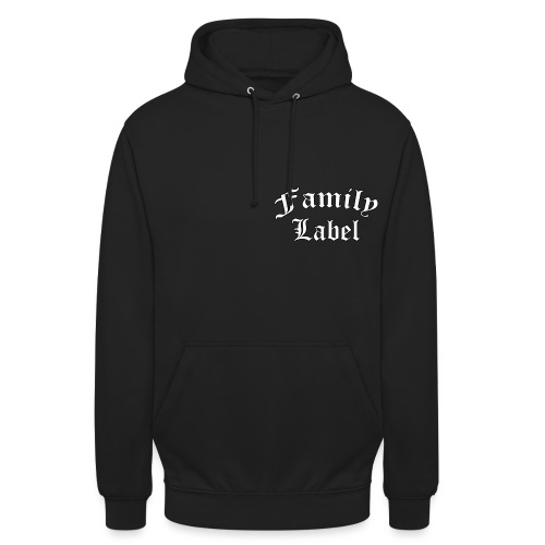 FAMILY LABEL ORIGINAL - Bluza z kapturem typu unisex