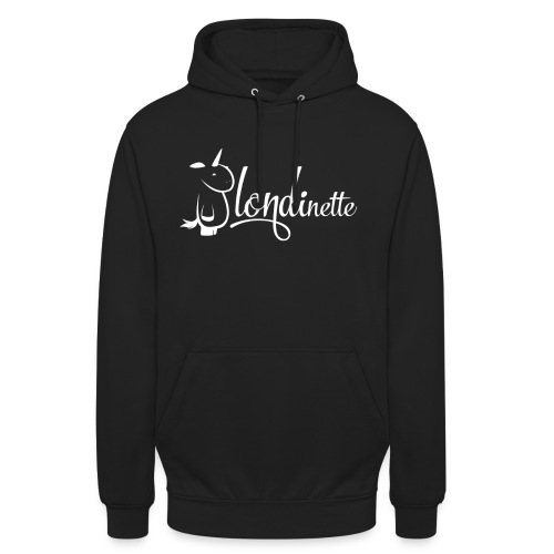 Blondinette - Sweat-shirt à capuche unisexe