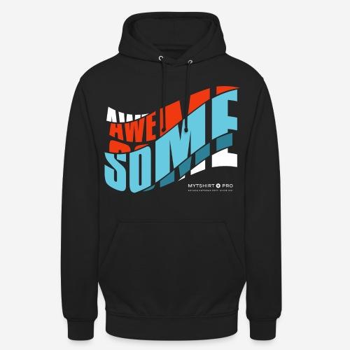 fantastische T-Shirt Design Diagonale - Unisex Hoodie