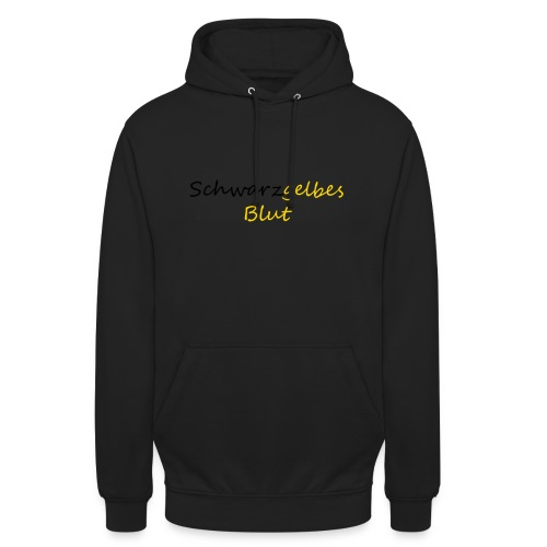 schwarzgelb - Unisex Hoodie