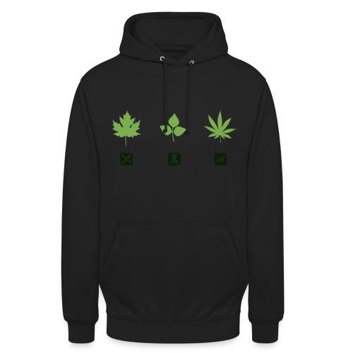 weed png - Unisex Hoodie