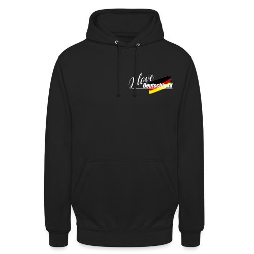 I love Deutschland - Unisex Hoodie