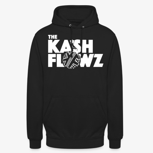 The Kash Flowz Official Bomb White - Sweat-shirt à capuche unisexe