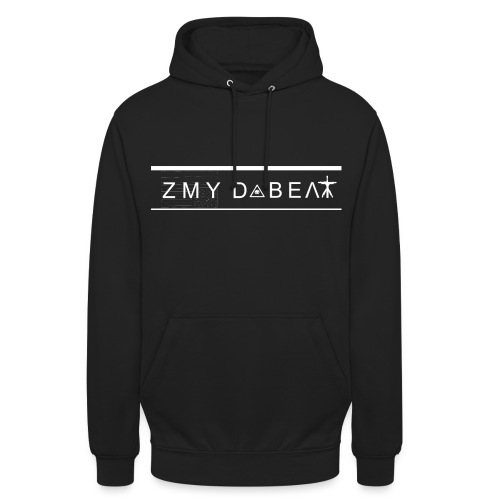 ZMY Logo weiss png - Unisex Hoodie
