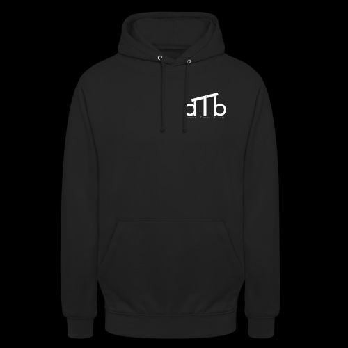 Logo_dTb_weiss_inv - Unisex Hoodie