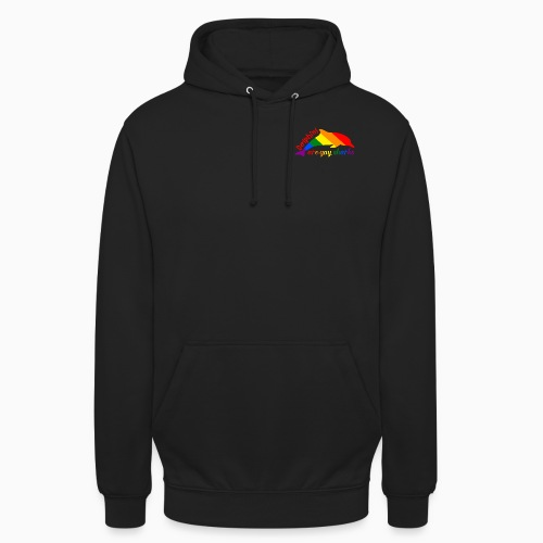 Dolphins are gay sharks! - Unisex Hoodie