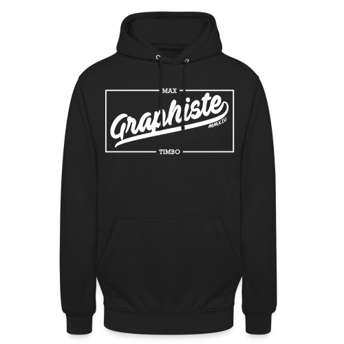 Graphiste jpg - Sweat-shirt à capuche unisexe
