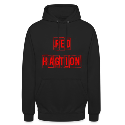 red hagtion png - Sweat-shirt à capuche unisexe