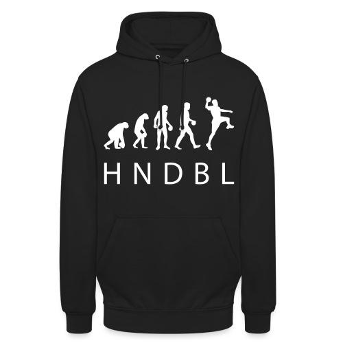 hndbl print evolution01 - Unisex Hoodie