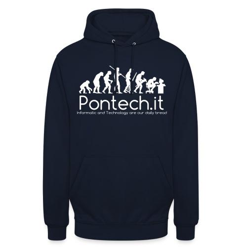 Pontech.it - Felpa con cappuccio unisex