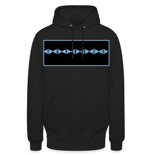 FREERUN BLEUTÉ - Sweat-shirt à capuche unisexe