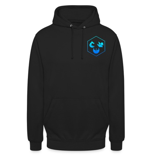 bluelgnd png - Unisex Hoodie