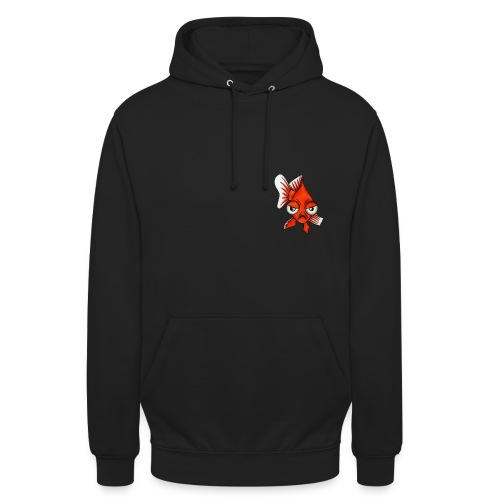Angry Fish - Sweat-shirt à capuche unisexe