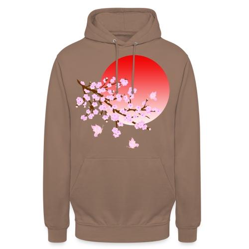 Cherry Blossom Festval Full Moon 3 - Unisex Hoodie
