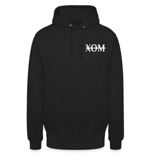 xom white png - Unisex Hoodie