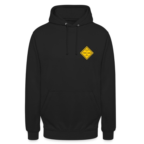 WINDFOIL zone logo new smaller - Unisex Hoodie