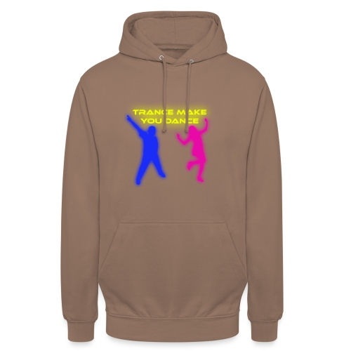 Trance make you dance - Luvtröja unisex