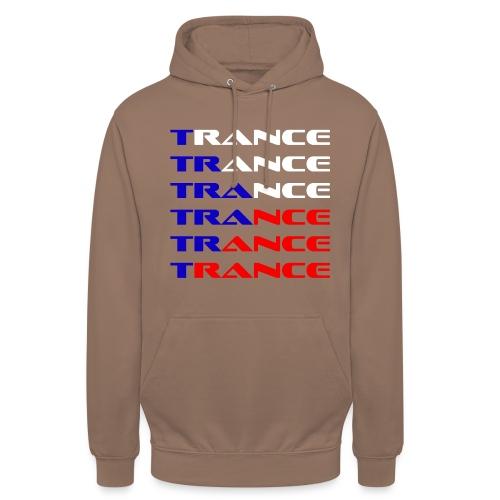 Trance Tjeckien - Luvtröja unisex