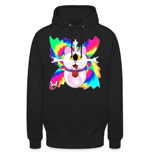 Chat diabolique - Sweat-shirt à capuche unisexe