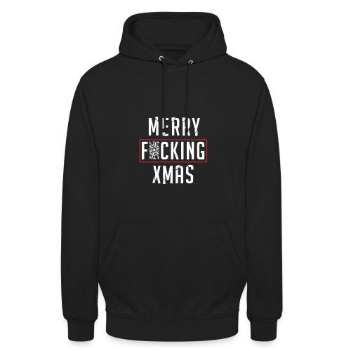 Merry F*cking Xmas - Hoodie unisex
