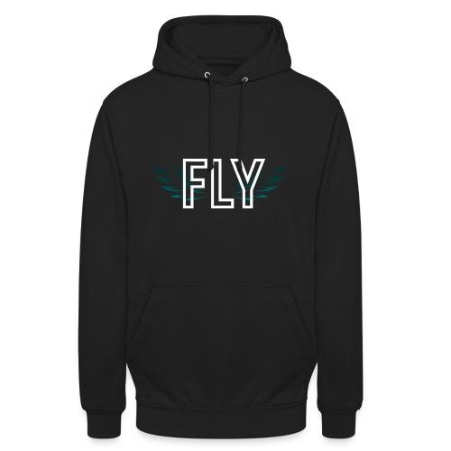 Wings Fly Design - Unisex Hoodie