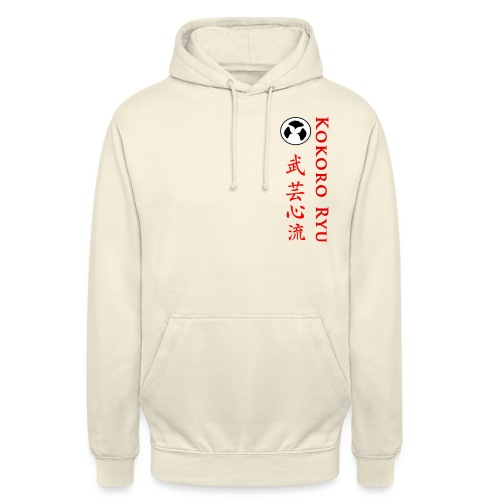 KOKORO RYU - Sweat-shirt à capuche unisexe