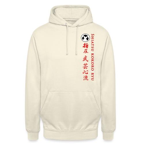 SHIATSU KOKORO RYU - Sweat-shirt à capuche unisexe
