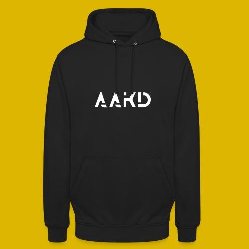 AAKD Logo in weiß - Unisex Hoodie